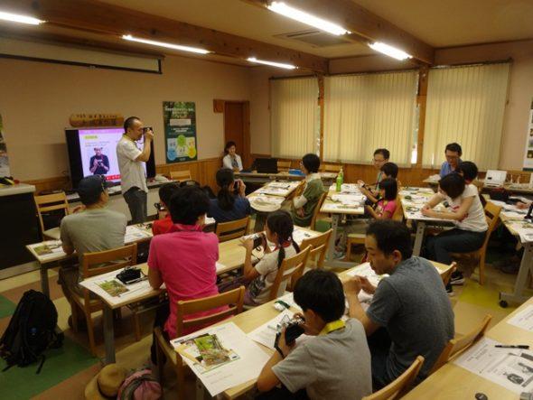 「親子de写真教室」が8月15日開催されました