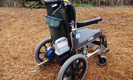Motor-assisted Wheelchairs for Visitors